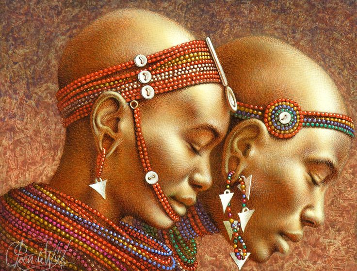 Masaai Girls Poen de Wijs